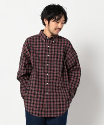 GLOSTER/【Gymphlex / ジムフレックス】 BIG SIZE BD SHIRTS#J-1389NBP/502796217