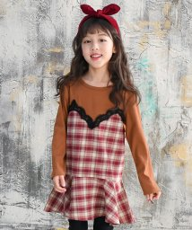 子供服Bee/ 重ね着風ワンピース/502811636