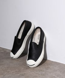 ADAM ET ROPE'/JACK PURCELL RET LEATHER SLIP-ON/502812764