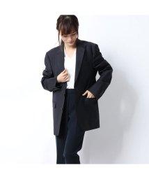 Rename/リネーム Rename ストライプテーラードジャケット (ダークネイビー)/502813056