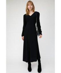 moussy/PUFF SHOULDER LONG ドレス/502813454