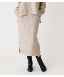 AZUL by moussy/WIDE RIB KNIT TIGHT SKIRT/502813476