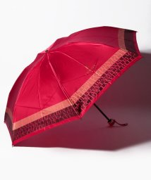 LANVIN Collection(umbrella)/LANVIN COLLECTION 婦人 長傘 P先染ジャカード ロゴボーダ/501508000