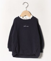 petit main/裏毛 裾バルーントレーナー/502803083