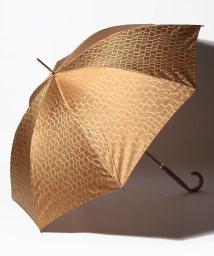LANVIN Collection(umbrella)/LANVIN COLLECTION(ランバン コレクション)婦人長傘 先染ロゴジャガード/502812241