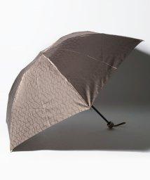 LANVIN Collection(umbrella)/LANVIN COLLECTION(ランバン コレクション)婦人ミニ傘 先染ロゴジャガード/502812242