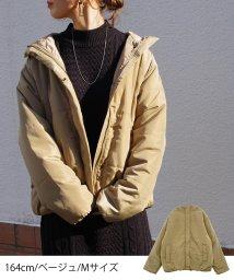 Fizz/中綿ショート丈コート mitis /502814049