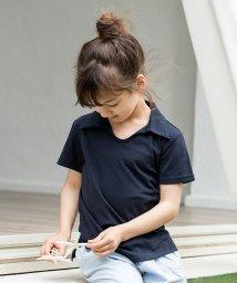 calinou/スキッパー鹿の子ポロシャツ/502814805