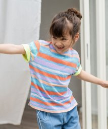 calinou/ネオンカラーボーダーTシャツ/502814807