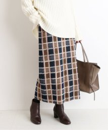 SLOBE IENA/【 CLASSY. Closet×SLOBE 】チェックタイトミモレスカート◆/502815345