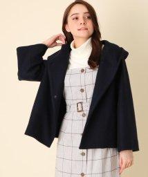 Couture Brooch/【WEB限定プライス/WEB限定サイズ(LL)あり】メルトンフーデットコート/502815621