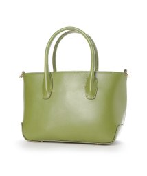 EXISTENCE/イグジスタンス EXISTENCE 2WAY LEATHER SOLID BAG (ライトグリーン)/502815798