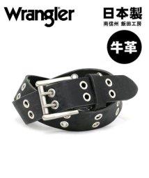 MARUKAWA/【WRANGLER】ダブルハトメレザーベルト/502666248