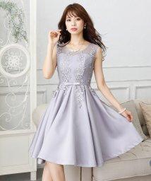PourVous/フィット&フレアレースドレス・結婚式・お呼ばれワンピース・パーティードレス/502709760