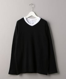 BEAUTY&YOUTH UNITED ARROWS/BY フェザー レイヤード ニット/502794132