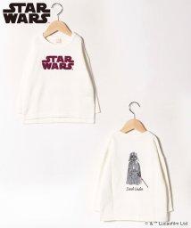 petit main/【STAR WARS】サガラロゴ長袖プルオーバー/502803078