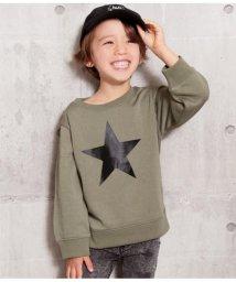 ANAP KIDS/バックロゴ星プリントトレーナー/502816168
