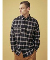 COTORICA./オーバーサイズチェックシャツ/502816355
