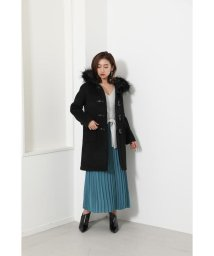 rienda/Straight Line WOOL Duffle Coat/502816366