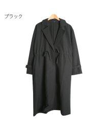 Rejoule/ポリエステルとろみ素材 ドロストトレンチコート/502818948