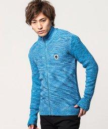VIOLA/VIOLA【ヴィオラ】バイヤス編みフルジップ長袖ジャケット/502821833