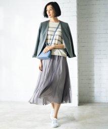 JIYU-KU /【マガジン掲載】チュールプリーツ リバーシブルスカート(検索番号A47)/502822858