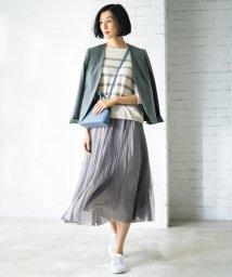 JIYU-KU(LARGE SIZE)/【追加決定!】チュールプリーツ リバーシブルスカート(検索番号A47)/502822859