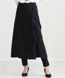 HAPPY EXP/起毛スカート レイヤードパンツ/502819566