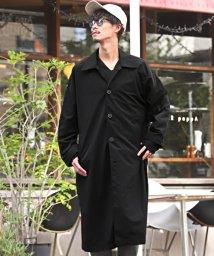 LUXSTYLE/ビッグステンカラーコート/ステンカラーコート メンズ コート オーバーサイズ ドルマンスリーブ BITTER ビター系 秋 冬/502823520