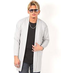 LUXSTYLE/フェイクスエードショールガウン/ガウン コート メンズ ショールカラー スウェード/502823522