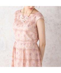 Rose Tiara(L SIZE)/オーガンジーフラワー刺繍ワンピース/502823782