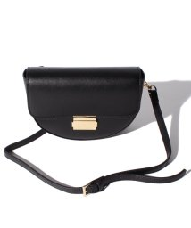 SMIR NASLI/Leather Semicircle  Shoulder            /502803971