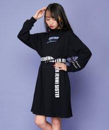 SISTER JENNI/ロゴベルト付厚盛ロゴハイネックワンピ/502826167