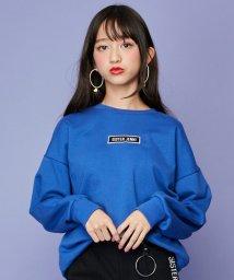 SISTER JENNI/ボックスロゴ刺繍ロング丈トレーナー/502826171