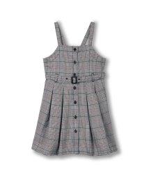 branshes/チェック柄ジャンパースカート(90~150cm)/502827327