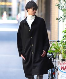 LUXSTYLE/ツイルビッグステンカラーコート/ステンカラーコート メンズ コート オーバーサイズ BITTER ビター系 秋 冬/502827349