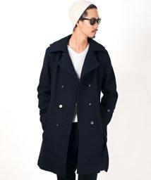 LUXSTYLE/変わり織りトレンチコート/トレンチコート メンズ コート ロング 変わり織り/502827352