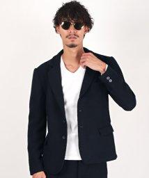 LUXSTYLE/変わり織りジャケット/テーラードジャケット メンズ ジャケット 変わり織り ワッフル/502827353