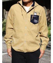 ESPACE VERT/【ESPACE VERT】ペンギンミュージック長袖フードシャツ/502828669