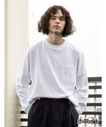 Goodwear/【Goodwear】USAコットン袖リブポケットロンT/502828723