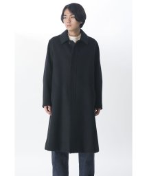 KURO/【KURO】SUPER 100'S BIG BAL COLLAR COAT/502829431