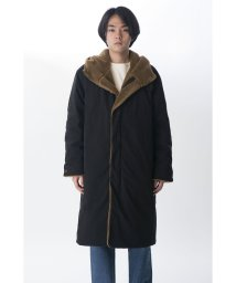 KURO/【KURO】MILITARY PARKA BOA DOWN COAT/502829432