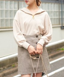 NICE CLAUP OUTLET/ハーフジップパーカー/502809599