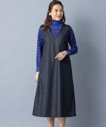 Leilian/【特別提供品】ロング丈ジャンパースカート/502815385