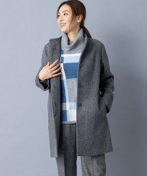 Leilian/【特別提供品】ミンクファー付きコート/502815427