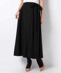 Leilian/【特別提供品】リボン付きフレアースカート/502815592