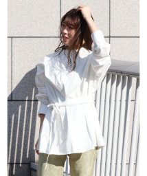 Ungrid/フロントデザインシャツ/502816341