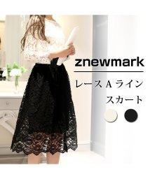 ZNEWMARK/花柄レース スカート/502823678