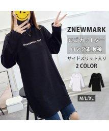 ZNEWMARK/長袖 ロングTシャツ/502826286