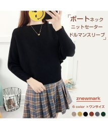 ZNEWMARK/ドルマンスリーブ ゆるニット/502826288